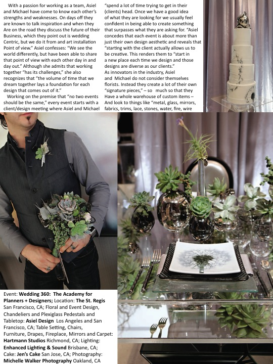 Grace Ormonde Magazine Article Page 3, Asiel Design Interview