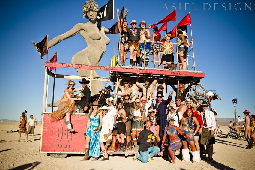Burning Man Wedding  |  Black Rock City