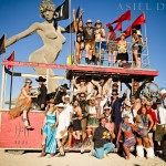 burning man  |  TROLLEY CAR PARTY