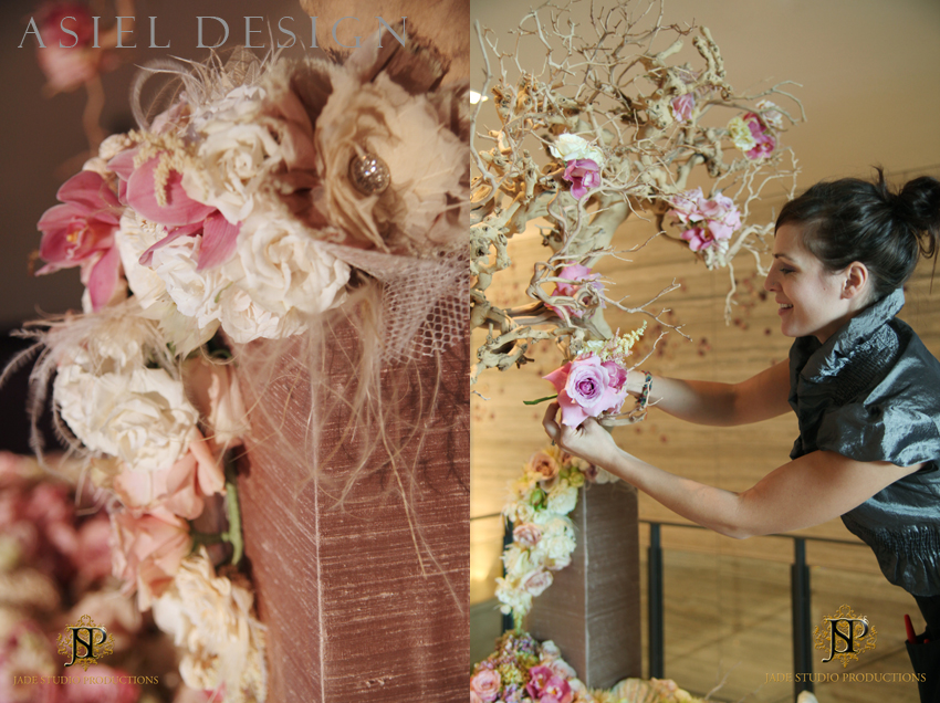 St Regis SF  |  streams of petals