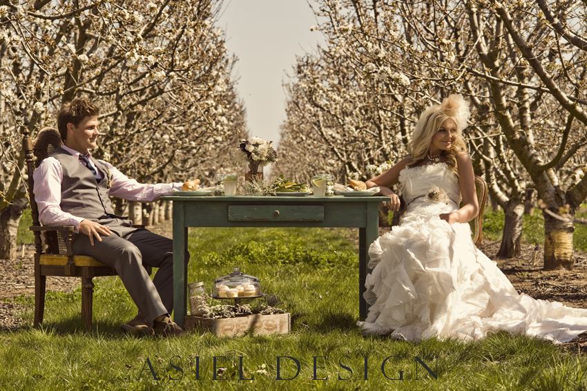 a day in the orchard with my love | ASHLEY MAXWELL