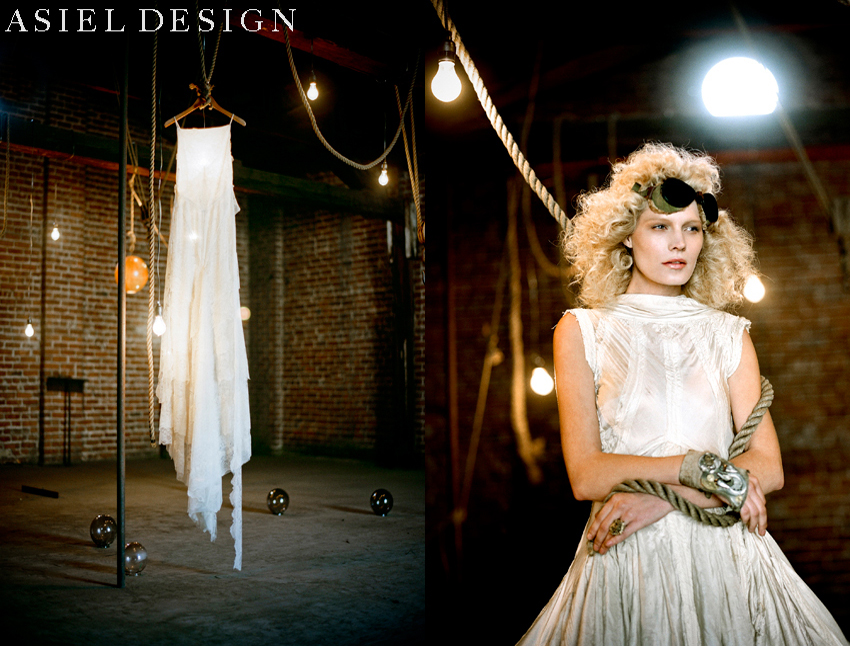 steampunk reception |  TODAY'S BRIDE MAGAZINE