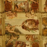god and humanity  |  SISTINE CHAPEL
