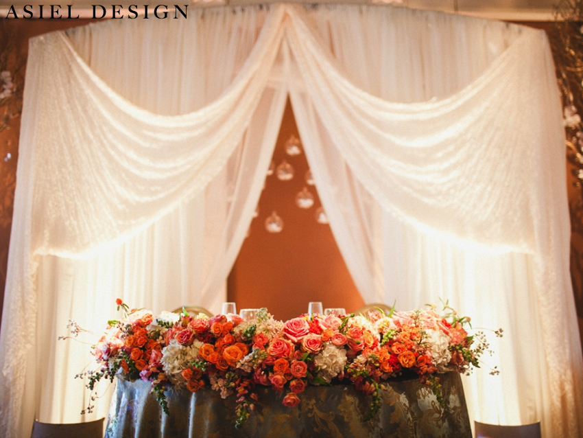 Feminine glam reception |  CASA AMORE.001