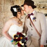 superheroes and steampunk wedding  |  MOUNTAIN WINERY