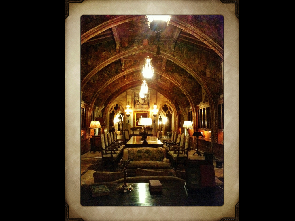 nighttime tour  |  HEARST CASTLE.001