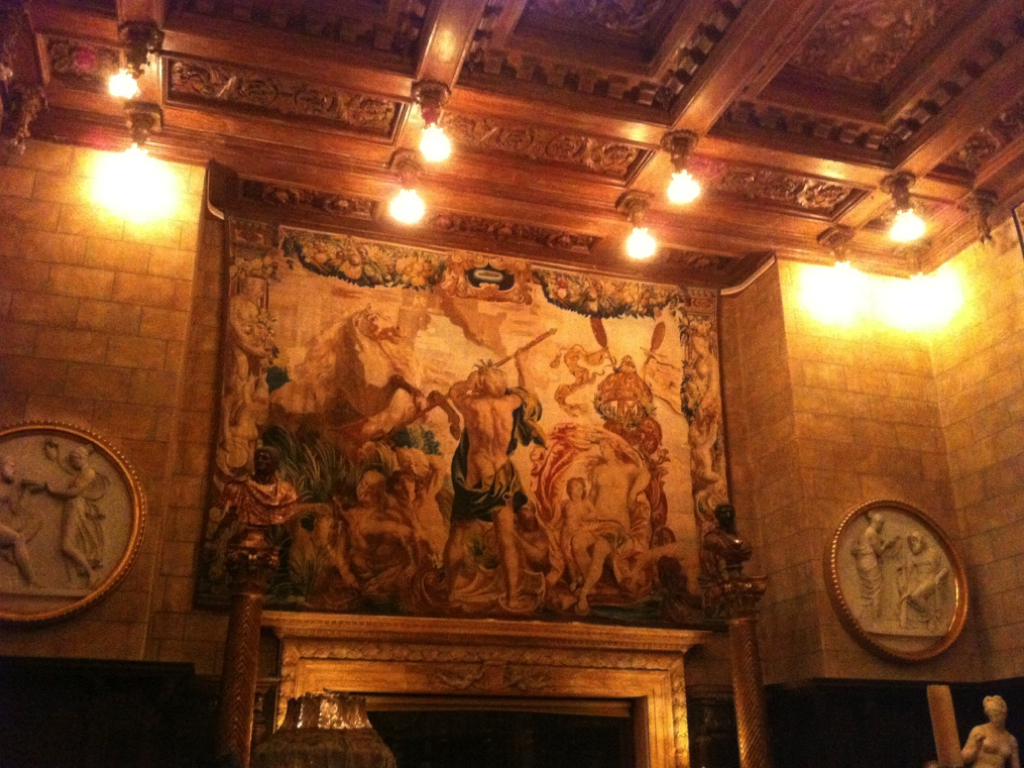 nighttime tour  |  HEARST CASTLE.005