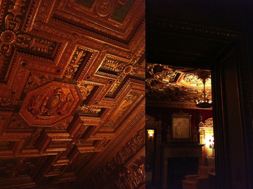 nighttime tour  |  HEARST CASTLE.010